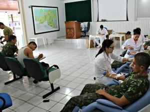 Cadastramento e a doação da medula só podem ser feito entre pessoas de 18 a 54 anos (Foto: Halex Frederic/G1)