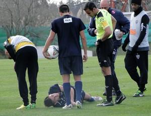 treino atlético-mg  (Foto: Leonardo Simonini)