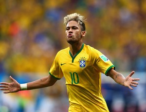 Neymar segundo gol Brasil x Camarões