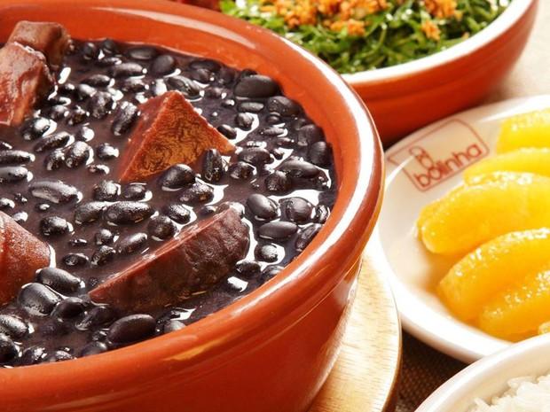 A tradicional feijoada do restaurante Bolinha (Foto: Divulgação)