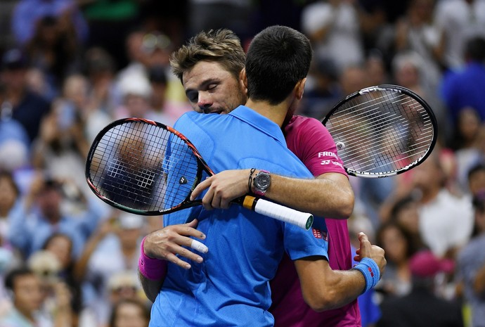 Novak Djokovic e Stan Wawrinka US Open 2016 final (Foto: AFP)