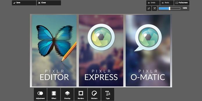 Editor de imagens multiplataforma Pixlr (Foto: Divulgação/Pixlr)