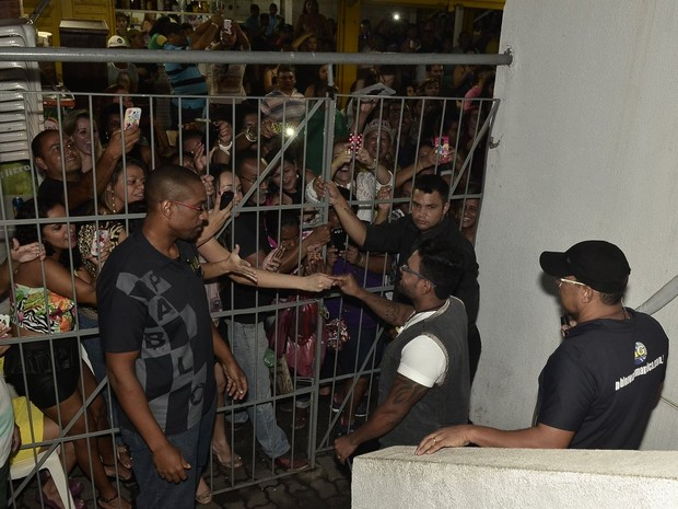 Pablo antes de se apresentar no Rio (Foto: Roberto Teixeira/ EGO)