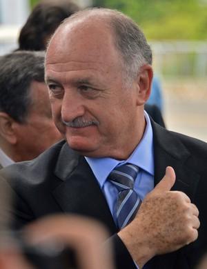 Luiz Felipe Scolari felipão sorteio copa do mundo (Foto: AFP)