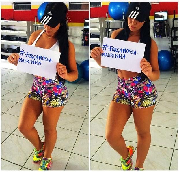 Misses Bumbum apoiam Andressa Urach (Foto: Arquivo Pessoal)