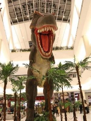 Exposição reúne réplicas de dinossauro em Sorocaba (Foto: Divulgação)