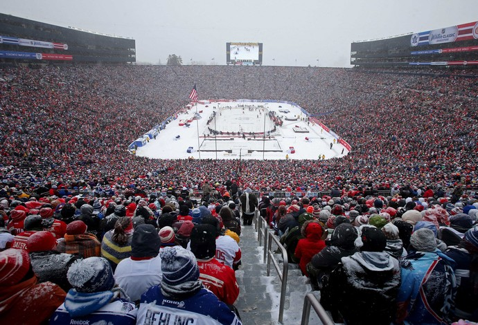 NHL Winter Classic (Foto: Reuters)