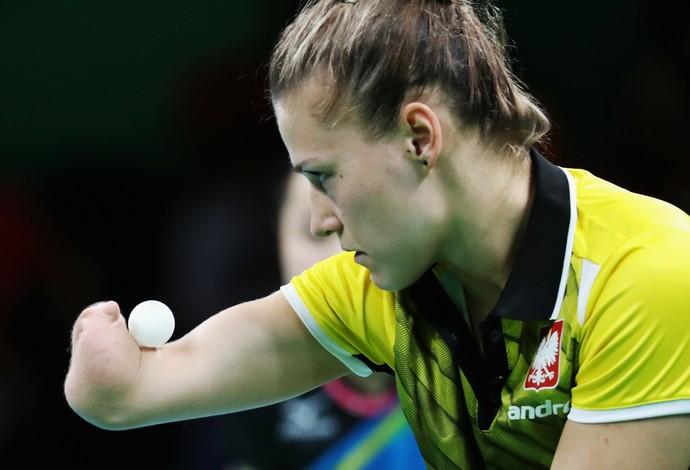 Natalia Partyka Tênis de Mesa (Foto: Getty Images)