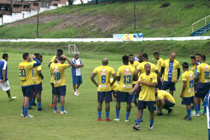 Nacional treino manaus amazonas (Foto: Marcos Dantas)