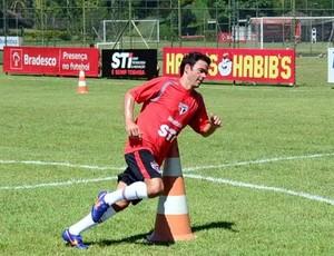 Juan treino São Paulo (Foto: Divulgação / sãopaulo.net)