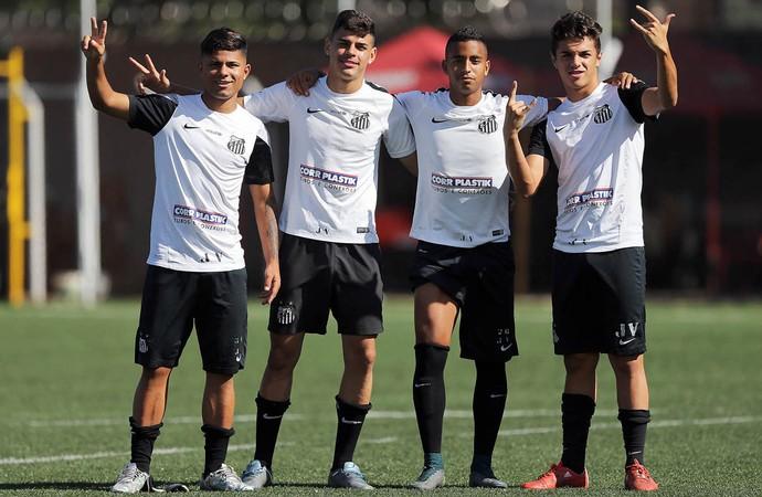 sub-17 Santos (Foto: Pedro Ernesto Guerra Azevedo / Divulgação Santos FC)