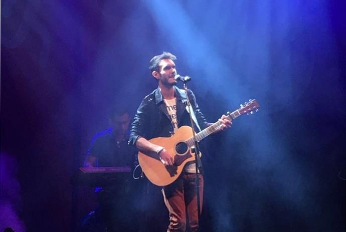 Marcello Archetti relembrou as canções que cantou no The Voice Brasil (Foto: Arquivo pessoal)
