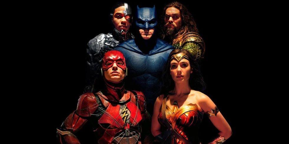 Heróis unidos em Liga da Justiça (Foto: Divulgação)