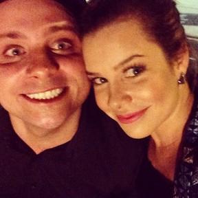 Léo Fuchs e Fernanda Souza em festa no Rio (Foto: Instagram/ Reprodução)