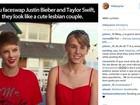 Taylor Swift responde Miley Cyrus após piada com Justin Bieber