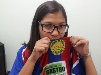 Rafaela Escalante, presidente do Plácido de Castro (Foto: João Paulo Maia)