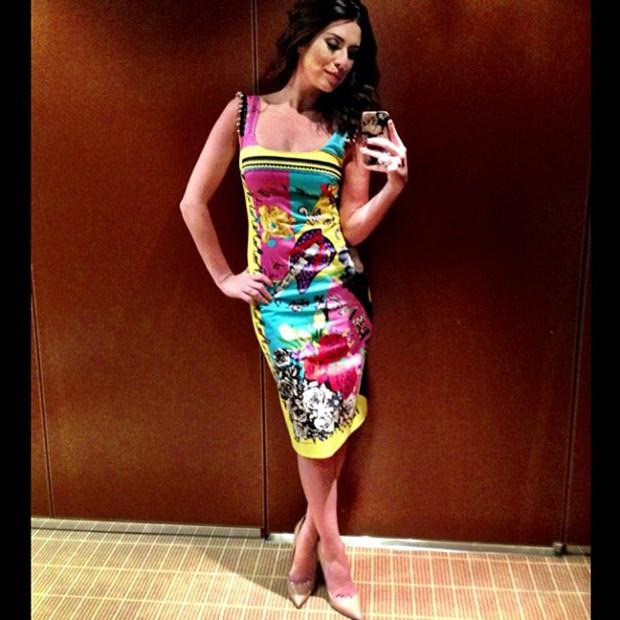 Fernanda Paes Leme em Cannes (Foto: Instagram / Reprodução)