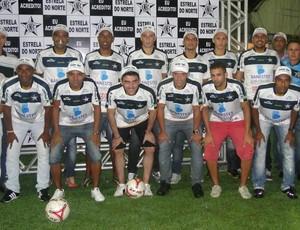 Apresentação do elenco do Estrela do Norte (Foto: Divulgação/Estrela do Norte)