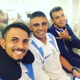 Marcos Felipe, Paulo Victor e Rafael, goleiros do Macaé (Foto: Reprodução)
