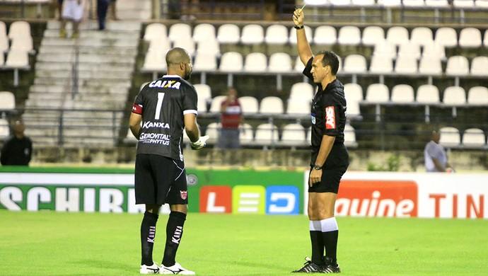 CRB x Macaé, no Rei Pelé (Foto: Ailton Cruz/Gazeta de Alagoas)
