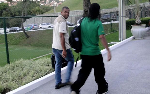 Ronaldinho Gaúcho do Atlético-MG (Foto: Leonardo Simonini /Globoesporte.com)
