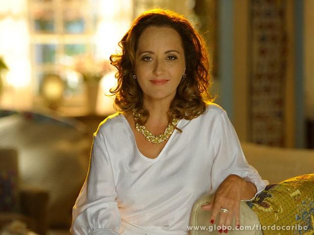 Claudia Netto empresta sua bela voz a Guiomar (Foto: Flor do Caribe / TV Globo)