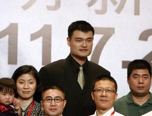 basquete nba yao ming aposentadoria (Foto: Agência EFE)