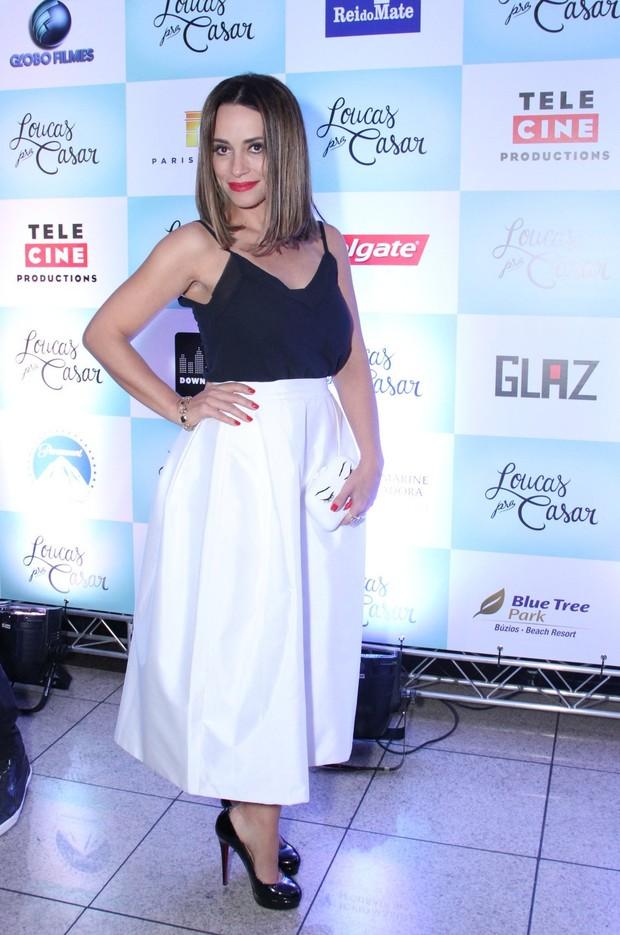 Suzana Pires em pré-estreia no Rio (Foto: Claudio Andrade e Thyago Andrade / Foto Rio News)