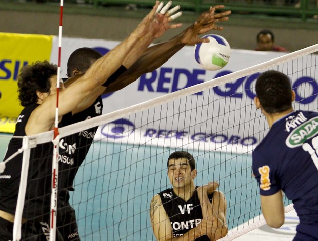 Vôlei Futuro Cruzeiro Superliga (Foto: Washington Alves/VIPCOMM )