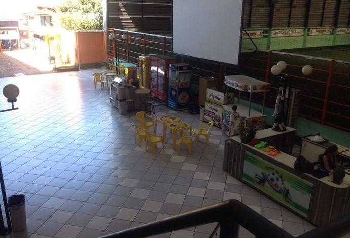 Nova escola do Fluminense em Juiz de Fora (Foto: Sérgio Augusto de Almeida/Arquivo Pessoal)