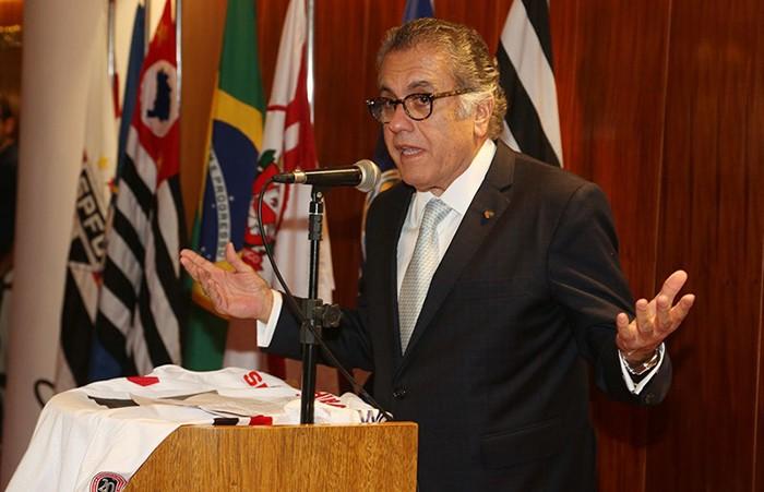 Carlos Miguel Aidar, presidente do São Paulo