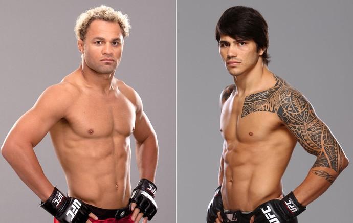 Josh Koscheck e Erick Silva, lutadores do UFC (Foto: Getty)