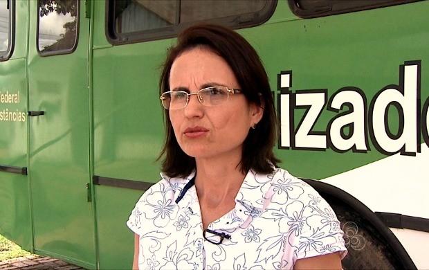 mulher explica sobre o que muda com a nova lei (Foto: Bom Dia Amazônia)