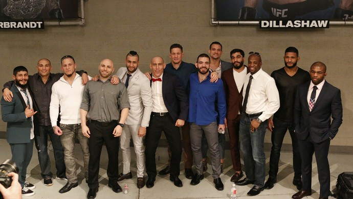 Cast; TUF 25 (Foto: Evelyn Rodrigues)
