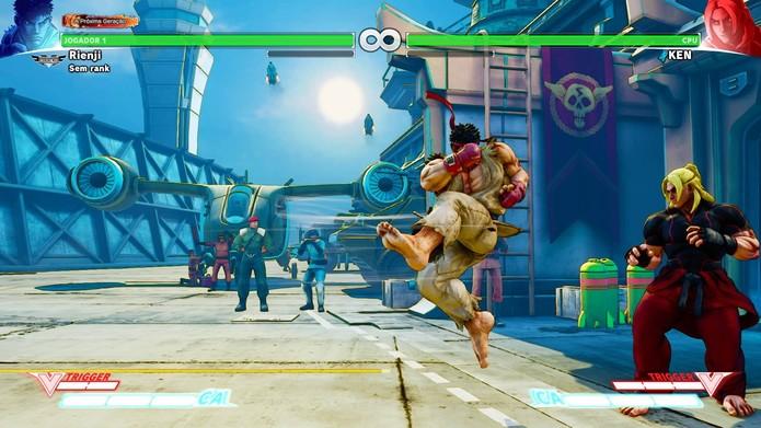 Tatsumaki no Street Fighter 5 (Foto: Reprodução/Felipe Vinha)