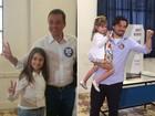 Eli Corrêa Filho e Guti votam em Guarulhos
