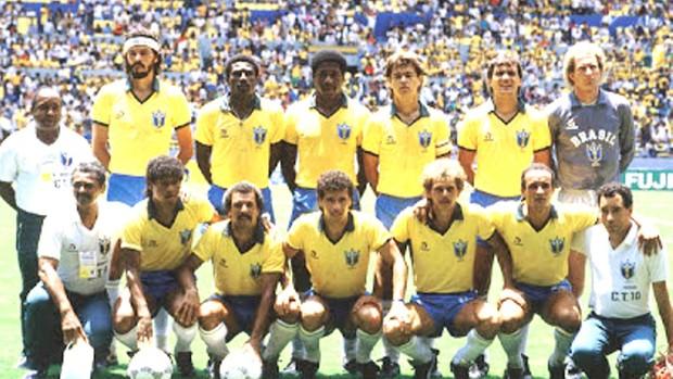 Josimar na Seleção Brasileira de 1986 (Foto: Arquivo pessoal)