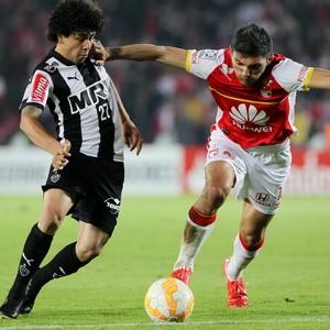 Luan, atacante do Atlético-MG (Foto: Leonardo Muñoz/EFE)