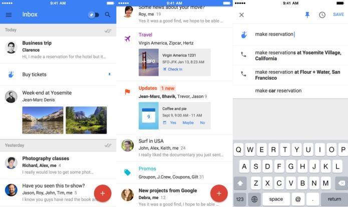 Organize melhor os seus e-mails com a ajuda do Inbox by Gmail (Foto: Divulgação/AppStore)