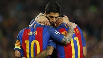 Assista aos melhores momentos da goleada do Barcelona sobre o Manchester City (Reuters)