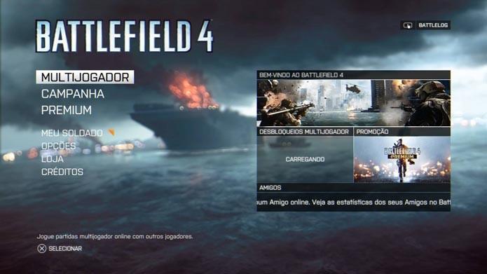 Battlefield 4: aprenda a remover os veículos das partidas online (Foto: Reprodução/Murilo Molina)