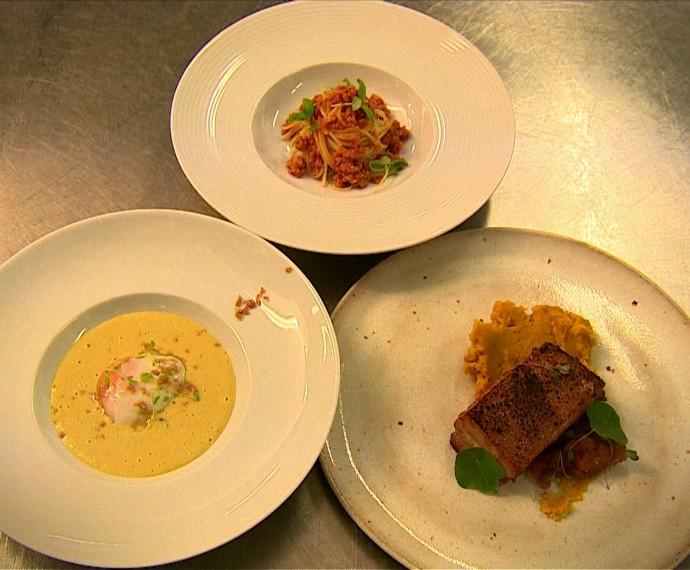 Chef Daniel Menezes receitas sofisticadas econômicas Mistura com Rodaika (Foto: Reprodução/RBS TV)