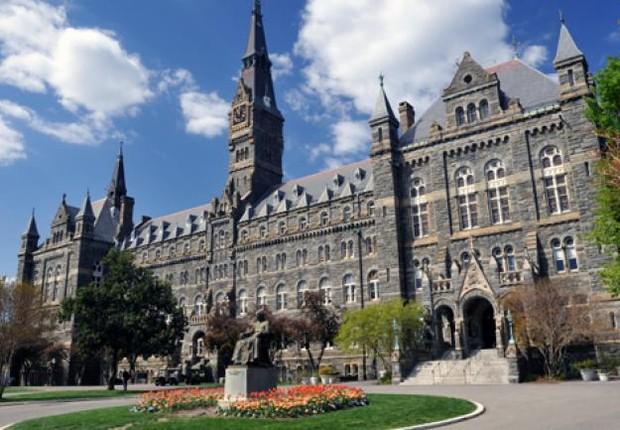 Universidade de Georgetown, em Washington, nos Estados Unidos (Foto: Divulgação)