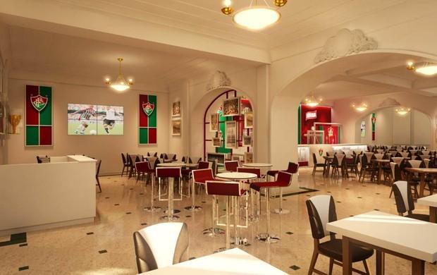 bar temático laranjeiras (Foto: Divulgação / FluminenseFC)