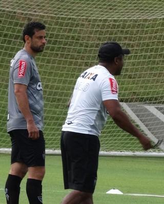 Fred, atacante do Atlético-MG (Foto: Rafael Araújo)