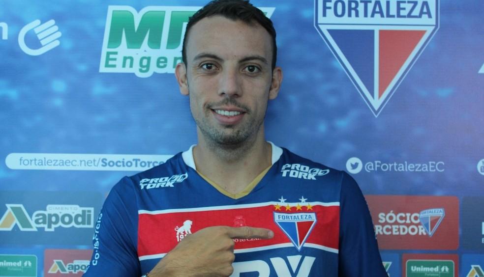 Paulo Sérgio, novo atacante do Fortaleza (Foto: Fortaleza/Divulgação)