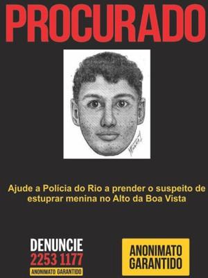 retrato falado (Foto: Divulgação / Disque-Denúncia)