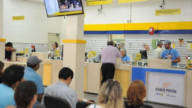 Banco Postal (Foto: Reprodução/Facebook)