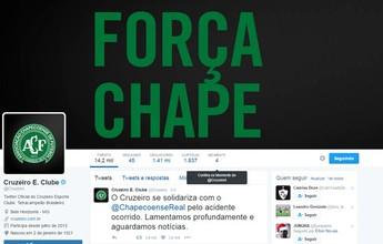 Cruzeiro vai homenagear Chape  antes do jogo com o Corinthians