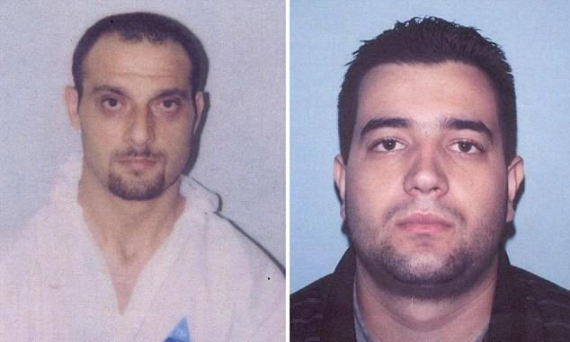 Nebojsa Denic e Milan Jovetic: detidos em 2004 após roubo em Londres, os integrantes da Pink Panthers  estão atualmente em liberdade (Foto: Reprodução)
